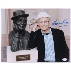 Norman Lear Signed 11x14 Photo (JSA COA)