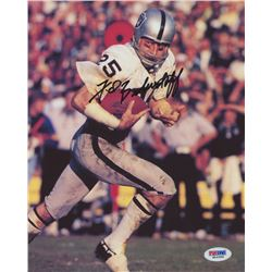 Fred Biletnikoff Signed Raiders 8x10 Photo (PSA COA)