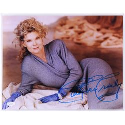 Cathy Lee Crosby Signed 11x14 Photo (JSA COA)
