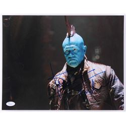 "Michael Rooker Signed ""Guardians Of The Galaxy"" 11x14 Photo Inscribed ""Yondu"" (JSA COA)"