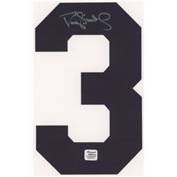 Darryl Strawberry Signed Yankees Jersey Number #3 (Autograph Reference COA)