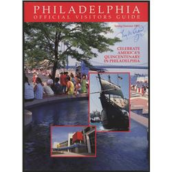 "Tug McGraw Signed 1992 Spring/Summer Philadelphia Official Visitors Guide Inscribed ""92'"" (Autograph"