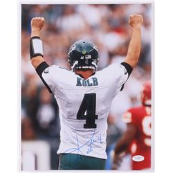 Kevin Kolb Signed Eagles 11x14 Photo (JSA COA)