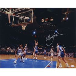 Christian Laettner Signed Duke Blue Devils 16x20 Photo (JSA COA)