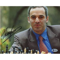 Garry Kasparov Signed 8x10 Photo (Beckett COA)