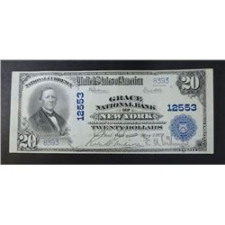 1902 PB $20 NATIONAL CURRENCY