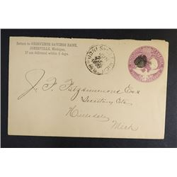 1893 COLUMBIAN EXPO ENTIRE FROM