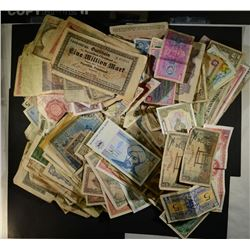OVER 225 FOREIGN CURRENCY PIECES
