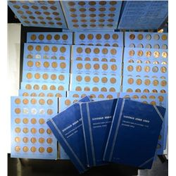 12 - LINCOLN CENT ALBUMS 1941 - 1964
