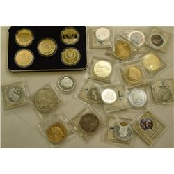 AMERICAN MINT TRIBUTE / TOKEN LOT;