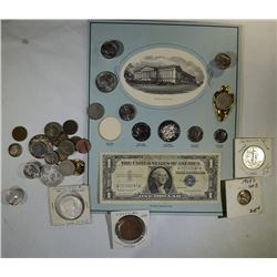 U.S. COIN LOT; The SILVER STORY, COLONIAL