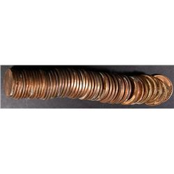 BU ROLL OF 1938 LINCOLN CENTS