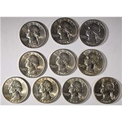 10-1944-S SILVER WASHINGTON QUARTERS CH BU
