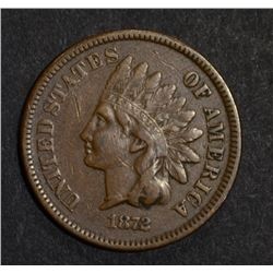 1872 INDIAN CENT XF