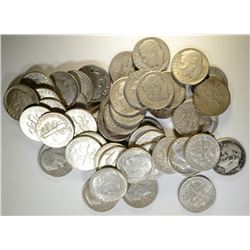$5 SILVER 90% DIMES - MIXED
