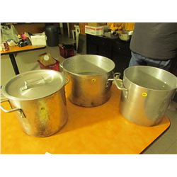 33 stainless steel stock pots
