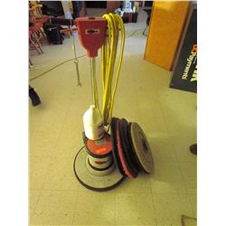 Floor polisher, scrubber Viper dual speed and pads