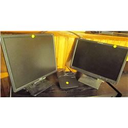 2 Acer monitors & Linksys