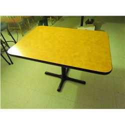 Rectangle restaurant table. 4 seater. 42 inch X 30 inch