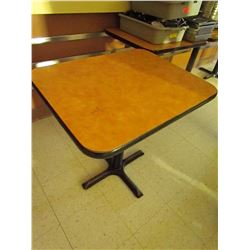 2 seater restaurant table 24 Inch X 30 Inch
