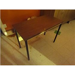 Metal table top 18 X 36 inch