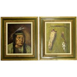 2 Original Oil Paintings by Wayne Potts