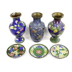 6 Pieces of Cloisonne'