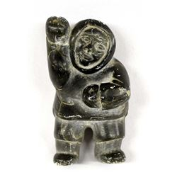 Native American Canadian Inuit Carved Stone Man