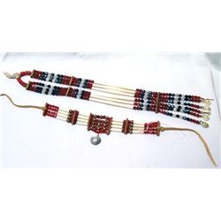 2 Plains Indian Beaded Necklaces