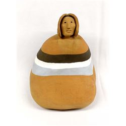 Native American Navajo Pottery Woman