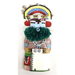 1994 Hopi Rainbow Cradle Kachina by Ron Yava