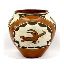 Vintage Native American Zia Pottery Jar