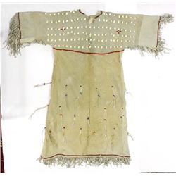 Native American Plains Indian Buckskin Dress