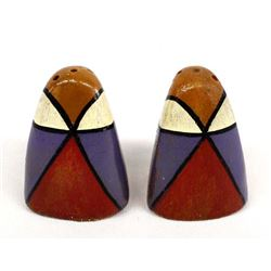 Native American Pottery Salt & Pepper Shakers