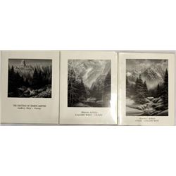 3 Vintage Prints of Ouray by Sharon Achtyes
