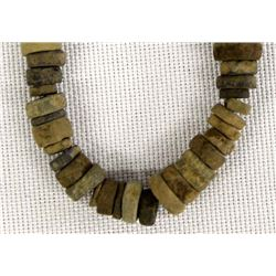 Antique Columbia River Stone Steatite Beads