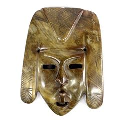 Mexican Carved Soapstone Mask