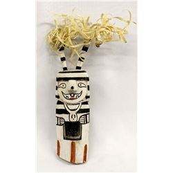 2002 Hopi Koshare Clown Kachina by Delvin Huma