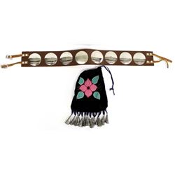 Eastern Plains Indian Belt and Bag