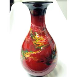 Fine Ceremonial Marbleized Pottery Vase