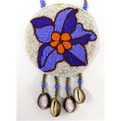 1983 Plains Indian Beaded Dance Necklace