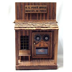 U.S. Post Office Folk Art Bank