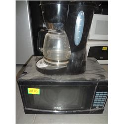 RCA Microwave with B&D Coffee Maker