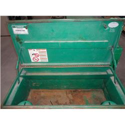 Greenlee Job Box 20x42x20 With Casters
