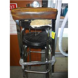 Lot of 3 Stools