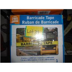 3 Boxes of Baracade Tape