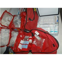 Lot of 3 Used First Aid Kits