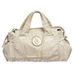 Gucci Ivory Leather Hysteria Hand Bag