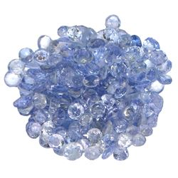 14.13 ctw Round Mixed Tanzanite Parcel