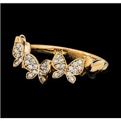 0.30 ctw Diamond Ring - 14KT Rose Gold